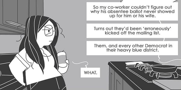 Oni Press Injects Comics Into Politics with Draw Out the Vote