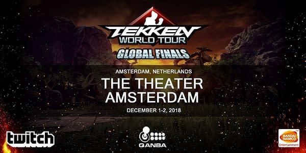The Tekken World Tour 2018 Finals Will Happen in Amsterdam