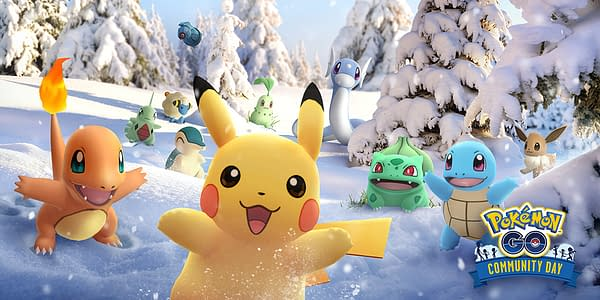 Pokémon GO Celebrates a Year's Worth of Community Events in December