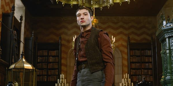 """Ezra Miller Had """"Serious Meltdown"""" About THAT 'Fantastic Beasts' Spoiler"""
