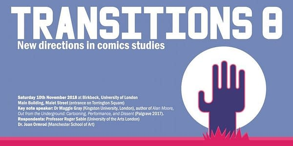 Things To Do In London If You Like Comics – November 2018