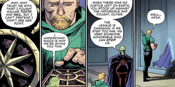 Green Arrow #50 to Tie In With No Justice and Heroes In Crisis – and End