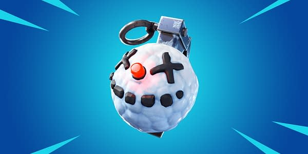 Fortnite Will Be Getting a Chiller Grenade Added Soon