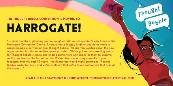 Thought Bubble Moves to November… and Harrogate