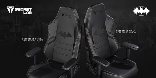 Warner Bros. and Secretlab Partner Up For Batman Gaming Chairs