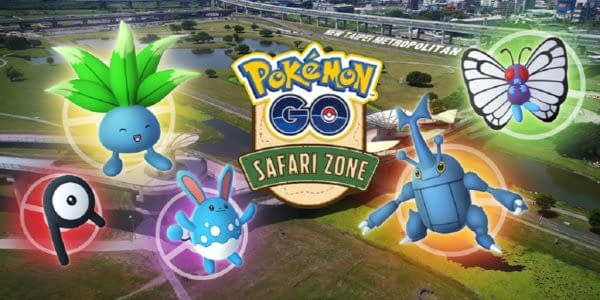 """""""Pokémon GO"""" Announces Safari Zone New Taipei City Event"""