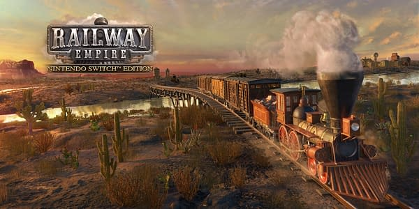 """""""Railway Empire"""" Will Hit The Nintendo Switch This March"""