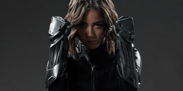 Chloe Bennet's Daisy Johnson is ready to take up the fight in Marvel's Agents of S.H.I.E.L.D., courtesy of ABC.