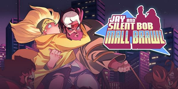 Jay and Silent Bob: Mall Brawl hearkens back to old NES titles.