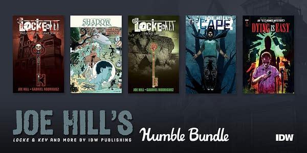 Joe Hill's Humble Bundle. Credit: IDW and Humble Bundle.