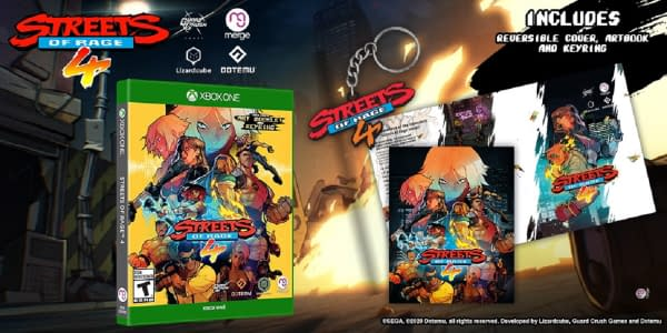 A look at the Streets Of Rage 4 Signature Edition for Xbox One.