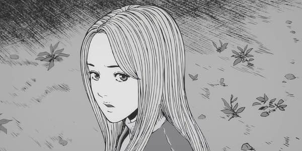 A still from the trailer for the anime adaptation of Junji Ito's manga, Uzumaki (courtesy of Junji Ito).