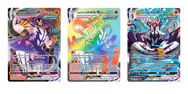 Rapid Strike Urshifu VMAX from Battle Styles. Credit: Pokémon TCG