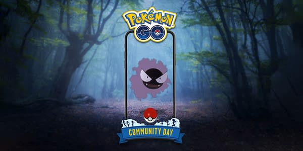 Gastly Community Day promo image. Credit: Niantic.