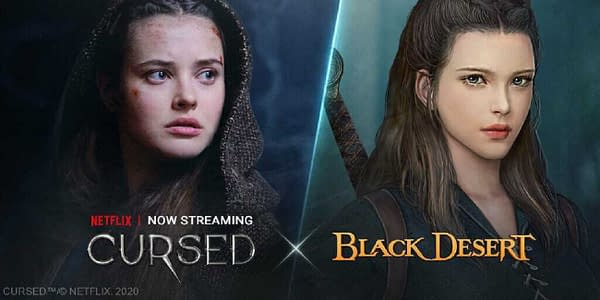 Black Desert will feature Cursed content starting tomorrow, courtesy of Netflix.