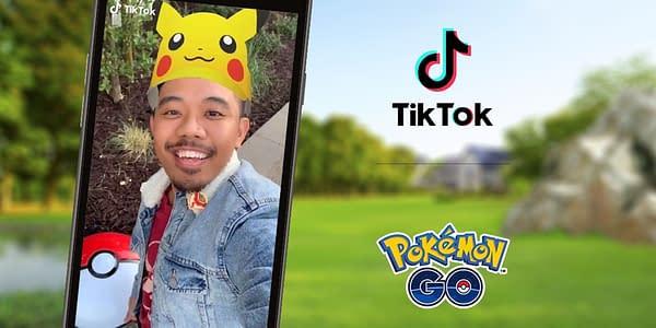 Pokémon GO and TikTok promo art. Credit: Niantic.