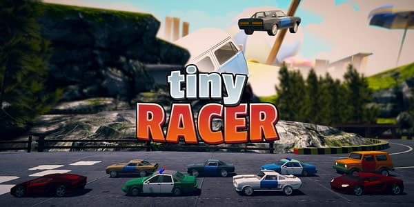 How far can you go in a plastic car in Tiny Racer? Courtesy of IceTorch Interactive.