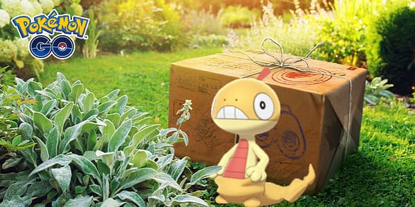 Scraggy is the August Research Breakthrough in Pokémon GO. Credit: Niantic.