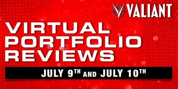Valiant Comics Launches Virtual Creator Portfolio Reviews in July.