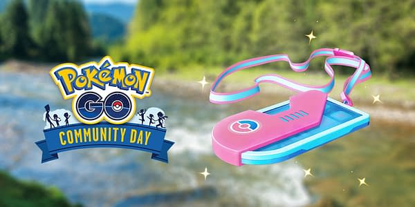 Making a Splash ticket for Magikarp Community Day. Credit: Niantic