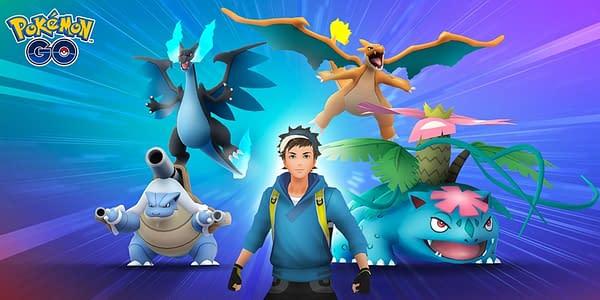 Shiny Pokémon in Mega Raids: Mega Evolution is Live in Pokémon GO. Credit: Niantic