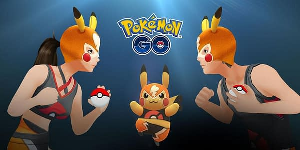 The Pokémon GO Battle League exclusive Pikachu Libre may be introduced into the game in other ways at some point. Credit: Niantic