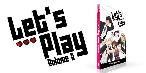 The webcomic Let's Play soars with Volume 2 on Kickstarter. Credit: Rocketship on Kickstarter