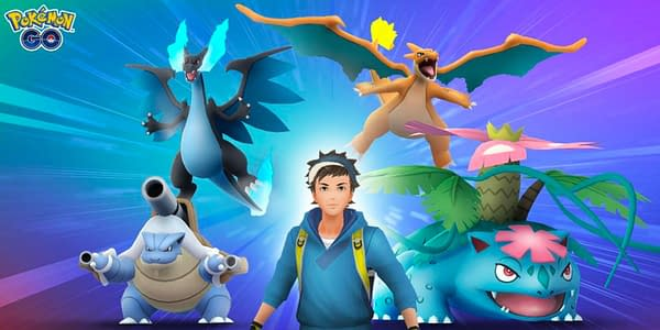 Mega Raid Event is Now Live in Pokémon GO. Credit: Niantic