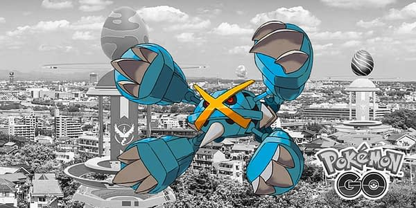 Metagross is in raids, and here's how you can counter it. Credit: Niantic and the Pokémon Company