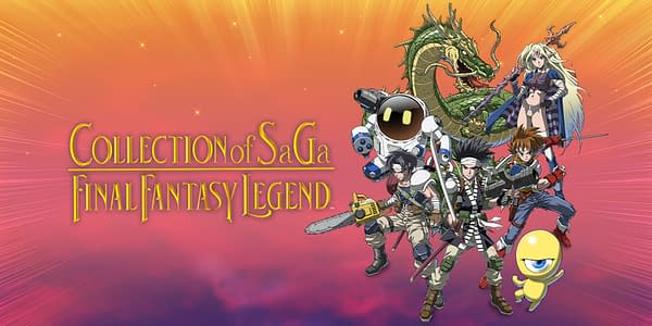 Own the first three Final Fantasy Legend games in one collection, courtesy of Square Enix.