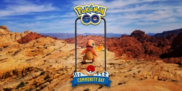 Charmander Community Day official graphic. Credit: Niantic