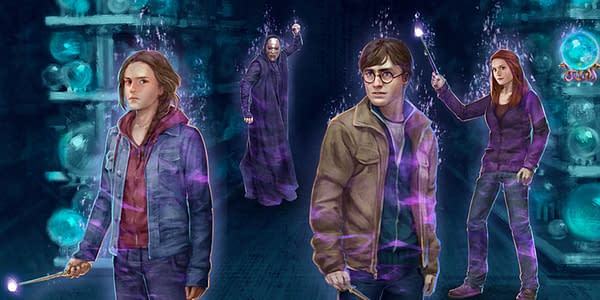 Promo image for Harry Potter Wizards Unite: Battle of the Department of Mysteries Brilliant Event Part 2. Credit: Niantic
