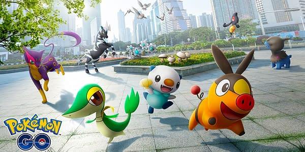 Unova Pokémon that Still Haven't Been Released in Pokémon GO. Credit: Niantic