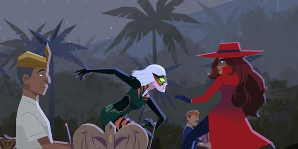 Carmen Sandiego Season 3 is coming in October (Image: Netflix)