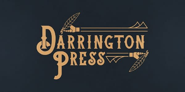 A look at the logo for Darrington Press, courtesy of Critical Role.