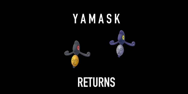 Yamask regular and Shiny comparison in Pokémon GO. Credit: Niantic