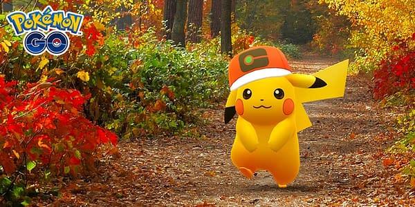 World Cap Pikachu promotional artwork in Pokémon GO. Credit: Niantic