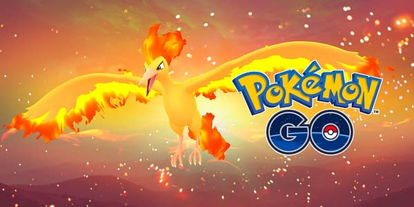 Moltres promotional graphic. Credit: Niantic
