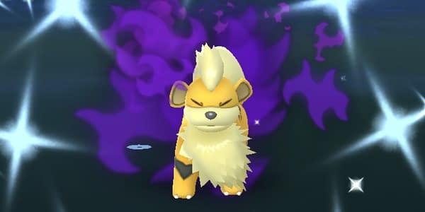 Shadow Shiny Growlithe in Pokémon GO. Credit: Niantic