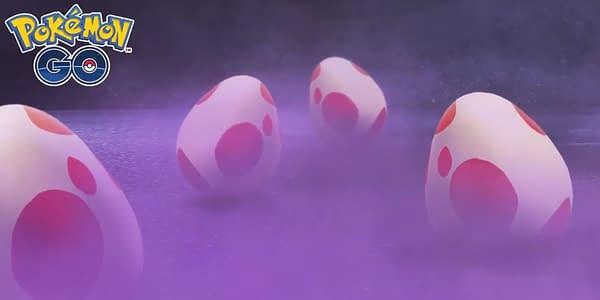 Strange Eggs promotional image in Pokémon GO. Credit: Niantic
