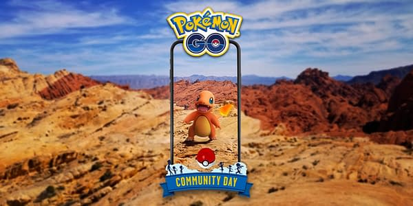 Charmander Community Day promotional graphic. Credit: Niantic