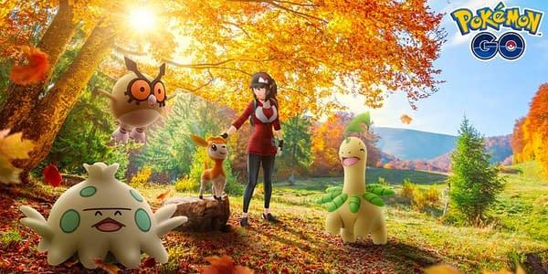 Pokémon GO Autumn Event promotional image. Credit: Niantic