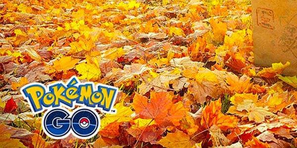 Its fall, and so, as the leaves turn, so do the research plans in Pokémon GO. Courtesy of Niantic.