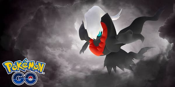 Darkrai promotional image in Pokémon GO. Credit: Niantic