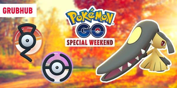 Pokémon GO Grubhub Weekend promotional image. Credit: Niantic