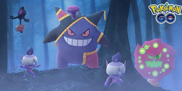 Halloween 2020 Event promotional image in Pokémon GO. Credit: Niantic