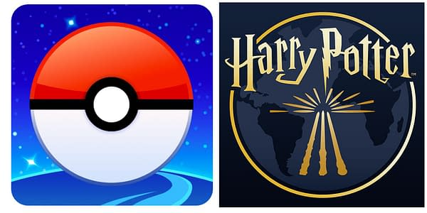 Pokémon GO and Harry Potter: Wizards Unite icons. Credit: Niantic