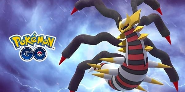 Giratina Origin Forme promotional graphic. Credit: Niantic