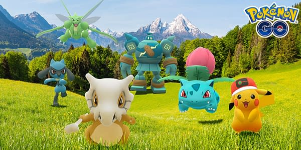Animation Week 2020 promotional image in Pokémon GO. Credit: Niantic