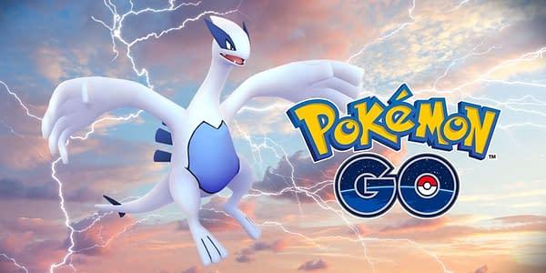 Lugia promotional image in Pokémon GO. Credit: Niantic